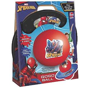 Brinquedo Pula Pula Go Go Ball Homem Aranha da Lider 2929