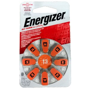 Bateria Energizer Pilha Audiologica AZ 13 Turn e Lock 38734