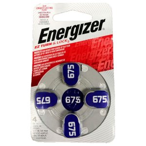 Bateria Energizer Pilha Audiologica AZ 675 Turn e Lock 38726