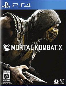 Jogo Midia Fisica Mortal Kombat X Original Lacrado para Ps4