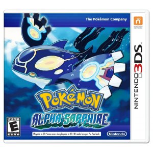 Jogo Novo Midia Fisica Pokemon Alpha Sapphire Nintendo 3ds