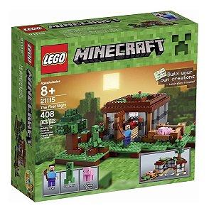 Brinquedo Novo Lacrado Lego Minecraft The First Night 21115