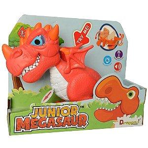 Brinquedo Infantil Dino Megassauro Junior Dragao Fun 82777