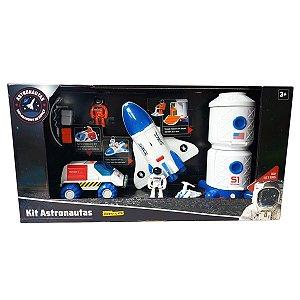 Brinquedo Kit Astronautas Exploradores do Espaço Fun 84510