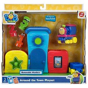 Brinquedo Infantil Playset Bob O Trem Pela Cidade Fun 84153