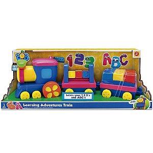 Brinquedo Playset Bob O Trem Aprendendo o Abc da Fun 84279