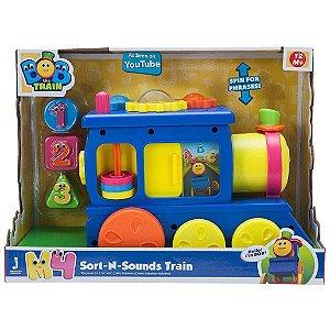 Brinquedo Figura Bob O Trem com Sons e Formas da Fun 84154