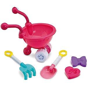 Brinquedo Barbie Carriola Fabulosa com Acessorios Fun 82743