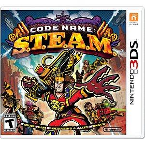 Jogo Midia Fisica Code Name Steam Lacrado para Nintendo 3ds