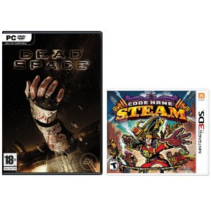 Combo Dead Space para PC e Code Name Steam para Nintendo 3ds