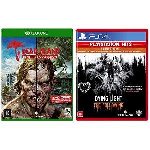 Combo Jogos Dead Island para Xbox One e Dying Light para Ps4