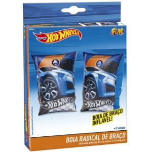 Boia de Braço Inflavel Infantil Hot Wheels Radical Fun 80726
