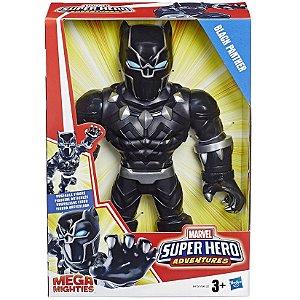 Boneco Playskool Heroes Mega Mighties Pantera Negra E4132