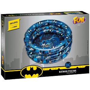 Piscina Inflavel Dc Comics Batman de 68 Litros da Fun 84187