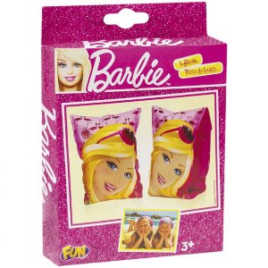 Boia de Braço Inflavel Infantil Barbie Fashion da Fun 76707