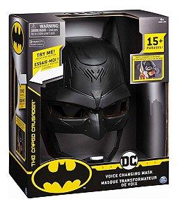 Mascara Do Batman Troca Voz Original Sunny Mais De 15 Frases