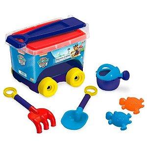 Brinquedo Kit de Praia Carrinho Patrulha Canina da Fun 83431