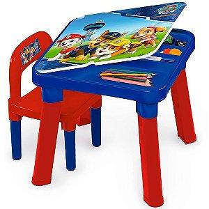 Mesinha com Cadeira Infantil A Patrulha Canina da Fun 83432