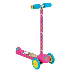 Brinquedo Patinete Fashion Barbie com 3 Rodas da Fun 81455