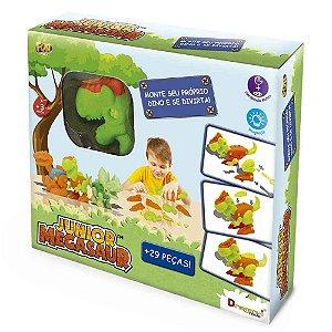 Brinquedo Mighty Megassaur Monte seu Dino Sortido Fun 84356