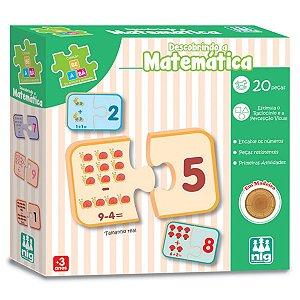 Jogo de Encaixe Descobrindo a Matematica Nig Brinquedos 0420
