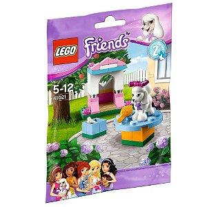 Brinquedo Lego Friends Casinha do Poodle com 46 peças 41021