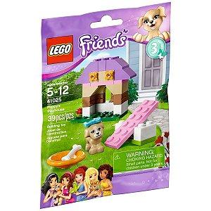 Brinquedo Lego Friends Casinha do Puppy com 39 peças 41025