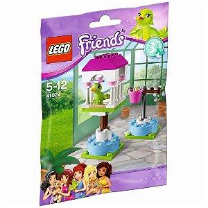 Brinquedo Lego Friends Gaiola do Papagaio com 32 peças 41024
