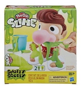 Massinha Play Doh Slime Nariz Snotty Scotty Hasbro E6198