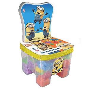 Brinquedo Cadeirinha Educadeira Blocos Os Minions Lider 2791