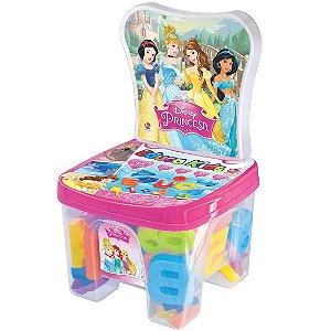 Brinquedo Cadeirinha Educadeira Letras Princesas Disney 2377