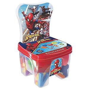 Brinquedo Cadeirinha Educadeira Letras Spider Man Lider 2535