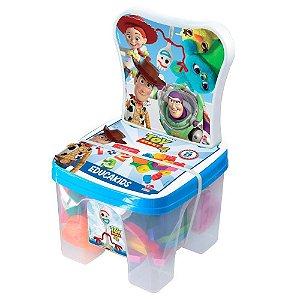 Brinquedo Cadeirinha Educadeira Blocos Toy Story Lider 2898