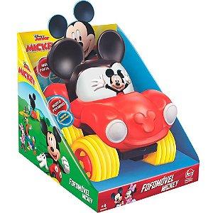 Brinquedo Veiculo Coleçao Fofomovel Disney Mickey Lider 2832