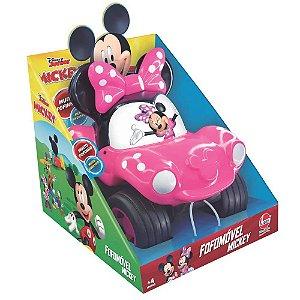 Brinquedo Veiculo Coleçao Fofomovel Disney Minnie Lider 2882