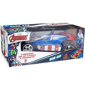Brinquedo Veiculo Hand Car Marvel Capitao America Lider 2311