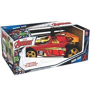 Brinquedo Veiculo Hand Car Marvel Homem de Ferro Lider 2937