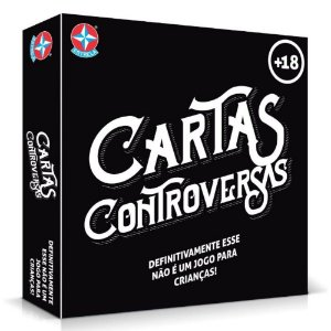 Brinquedo Jogo de Mesa Card Game Cartas Controversas Estrela