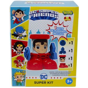 Massinha de Modelar Dc Super Friends Super Kit Superman 2162