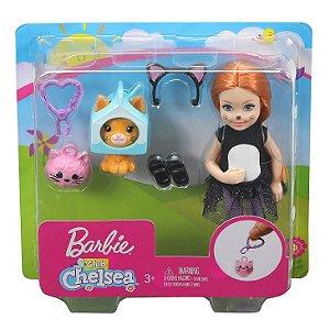 Boneca Barbie Club Chelsea Fantasia de Gatinha Mattel Ghv69