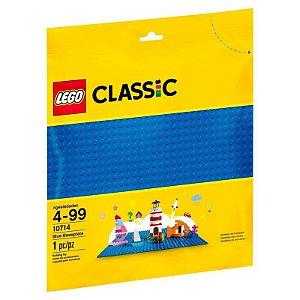 Brinquedo Lego Classic Base De Construção Azul 10714