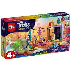 Lego Trolls A Aventura de Jangada no Pantano Isolado 41253