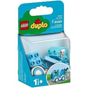 Lego Duplo Blocos de Montar O Caminhao de Reboque Azul 10918