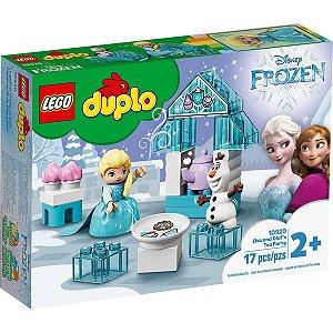 Lego Duplo Disney Frozen Festa do Cha da Elsa e Olaf 10920
