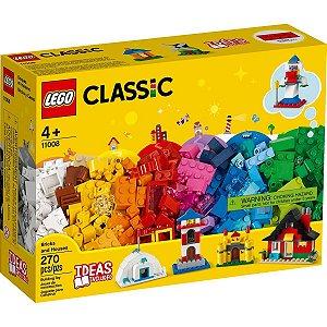Lego Classic Blocos de Montar e Casas com 270 Peças 11008