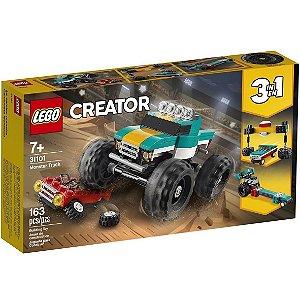 Lego Creator 3 em 1 O Caminhao Gigante com 163 Peças 31101
