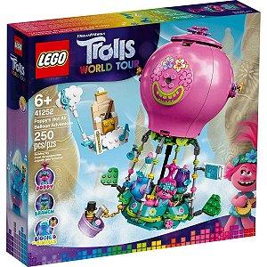 Lego Trolls A Aventura no Balao de Poppy com 250 Peças 41252