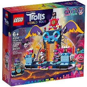 Lego Trolls Concerto Vulcao Rock City com 387 Peças 41254