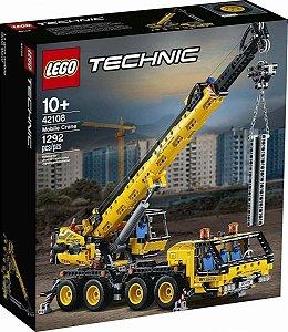 Brinquedo Blocos Montar 42108 Lego Technic Guindaste Móvel