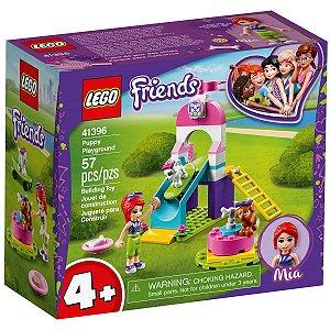 Lego Friends Playground para Cachorrinhos com 57 Peças 41396